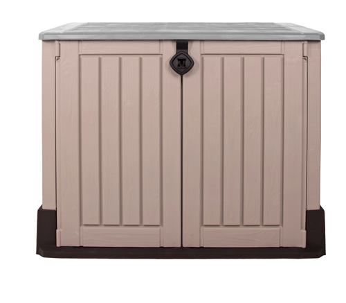 keter m lltonnenbox woodland 30 ger tebox abschlie bar. Black Bedroom Furniture Sets. Home Design Ideas