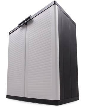 kunststoffschrank beistellschrank 2 fachb den ondis24 universalschrank garten ebay. Black Bedroom Furniture Sets. Home Design Ideas