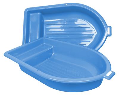 sandkasten sandkiste planschbecken boot blau 2 teilig. Black Bedroom Furniture Sets. Home Design Ideas