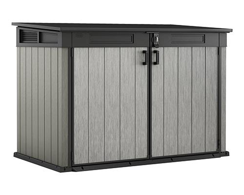 ondis24 keter grande store xxl gartenbox ger teschuppen 2020l f r 3 m lltonnen ebay. Black Bedroom Furniture Sets. Home Design Ideas