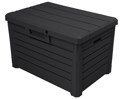 ondis24 florida compact garten kissenbox sitztruhe holzoptik poolbox anthrazit 4250627243427 ebay. Black Bedroom Furniture Sets. Home Design Ideas