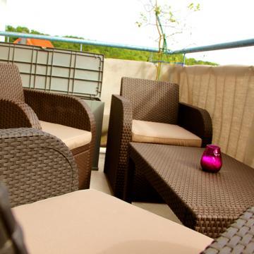 Sommer auf Balkon und Terrasse