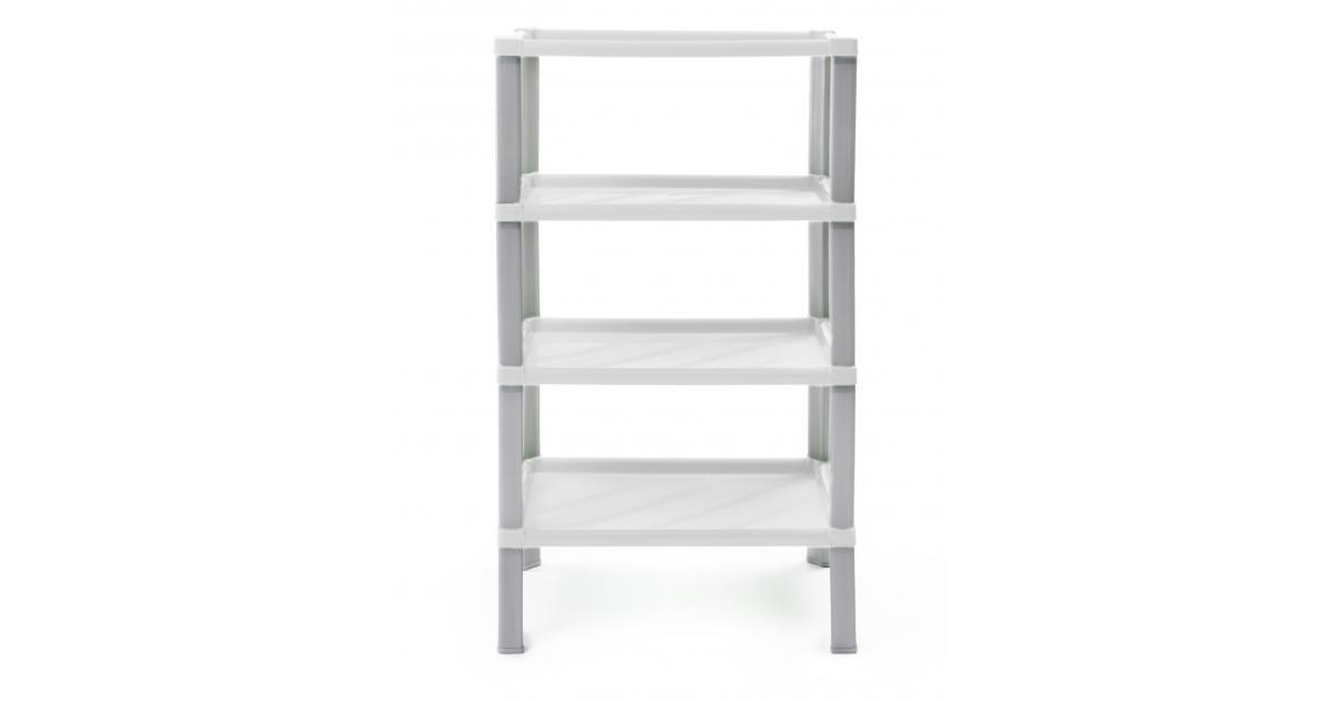 ondis24 regal kunststoff badregal scaf wei g nstig online kaufen. Black Bedroom Furniture Sets. Home Design Ideas