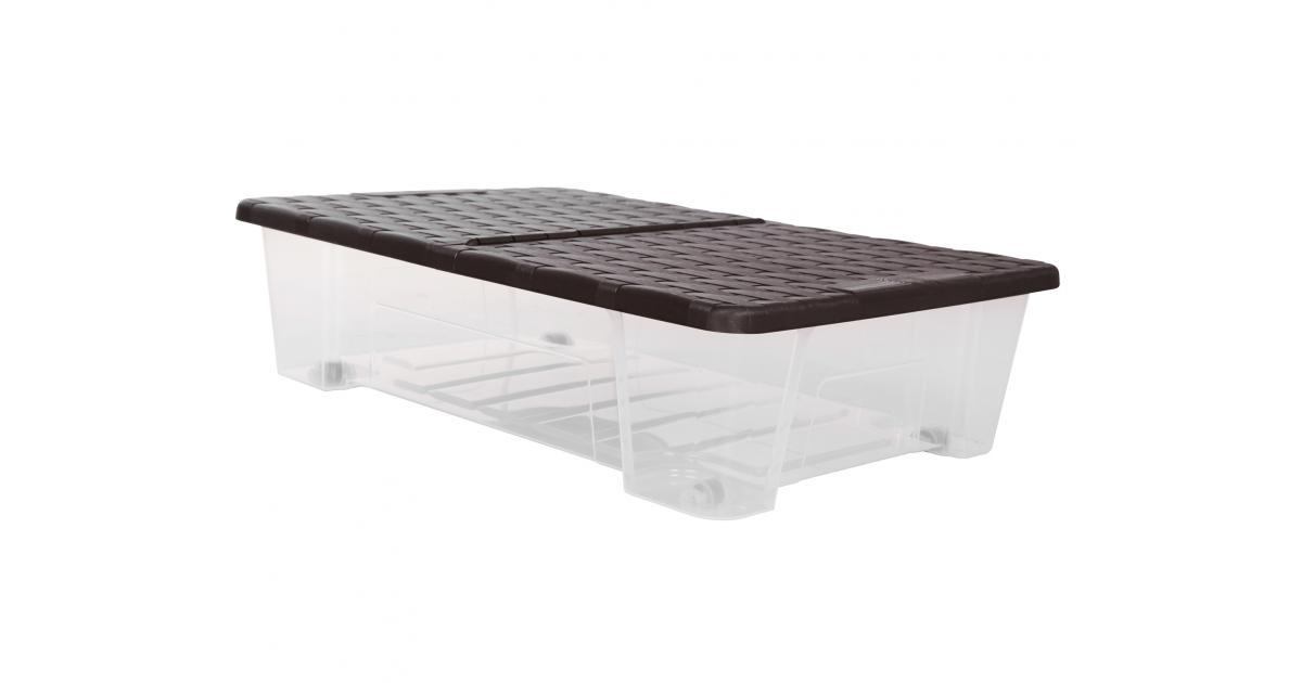 ondis24 unterbettbox mit rollen 25 l g nstig online kaufen. Black Bedroom Furniture Sets. Home Design Ideas