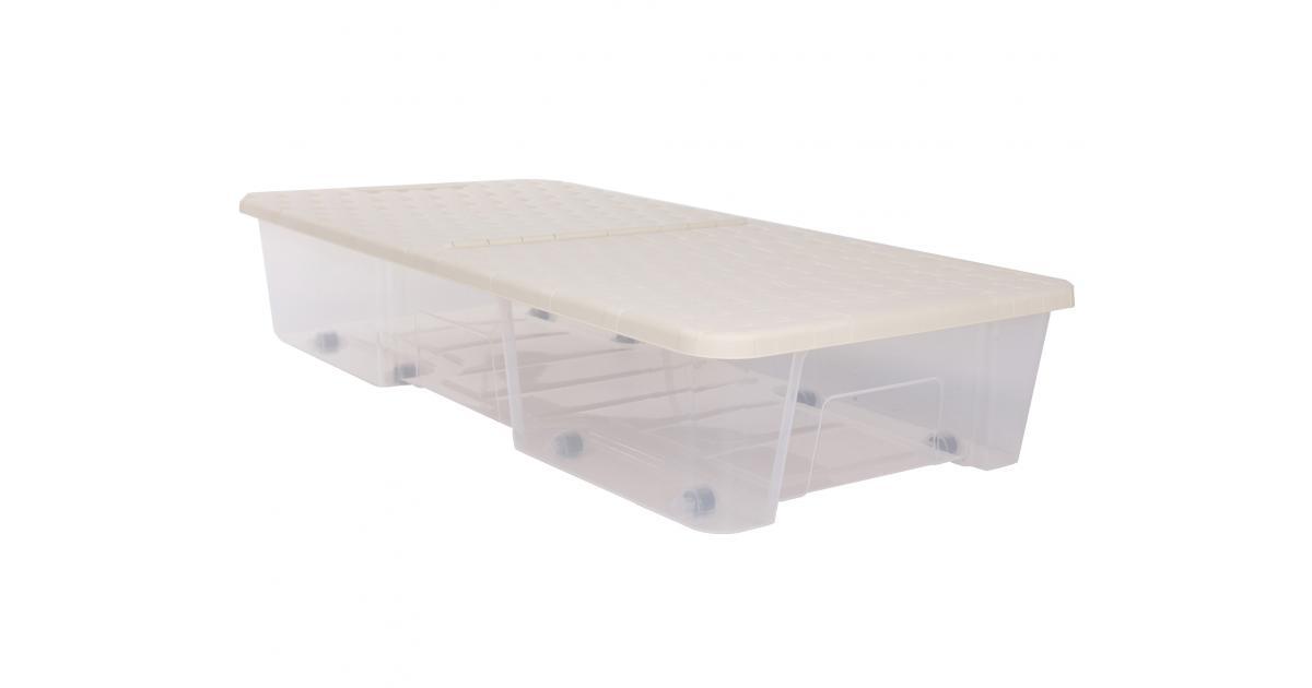ondis24 unterbettbox mit rollen 35 l g nstig online kaufen. Black Bedroom Furniture Sets. Home Design Ideas