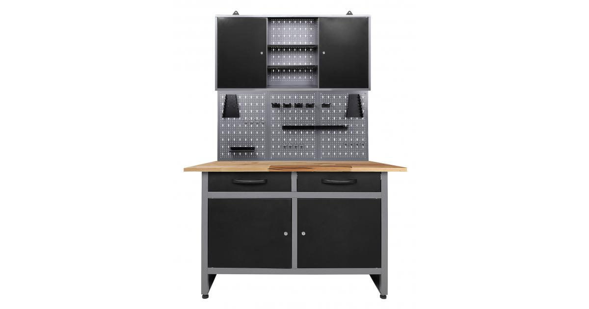 ondis24 werkstatt set werner 120 cm 1 schrank g nstig online kaufen. Black Bedroom Furniture Sets. Home Design Ideas