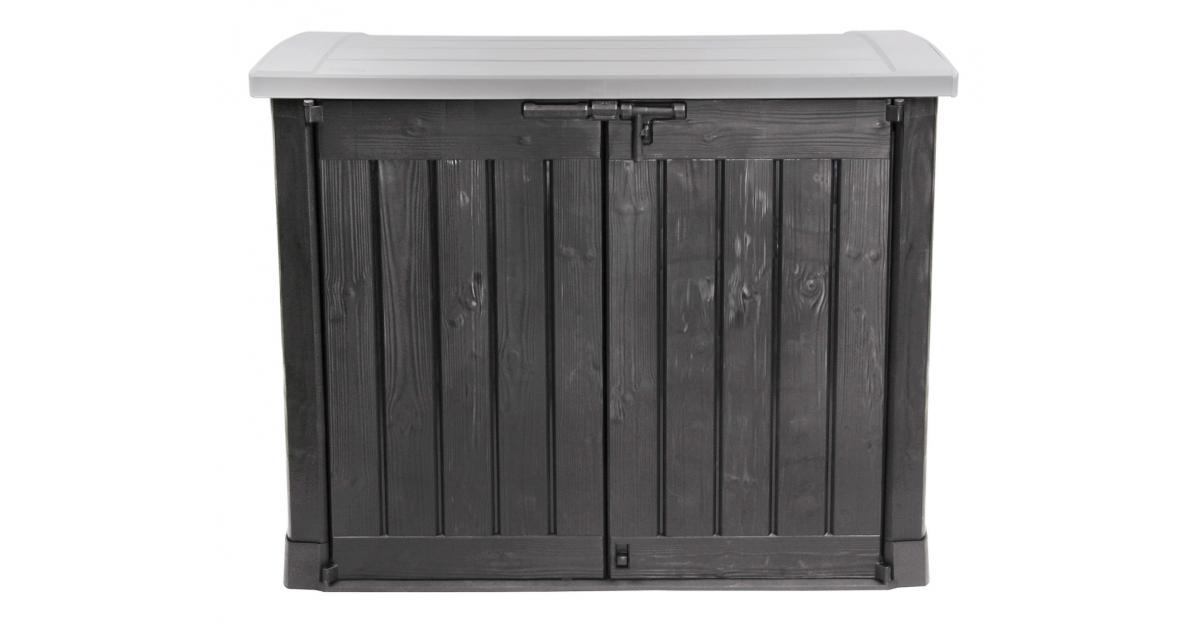 ondis24 keter m lltonnebox ger teschuppen gartenbox arc. Black Bedroom Furniture Sets. Home Design Ideas