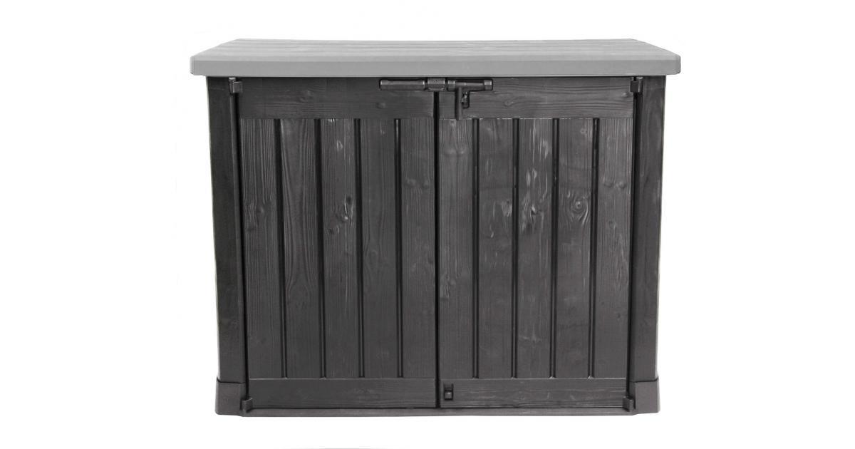 ondis24 keter m lltonnenbox gartenbox max kunststoff anthrazit g nstig online kaufen. Black Bedroom Furniture Sets. Home Design Ideas
