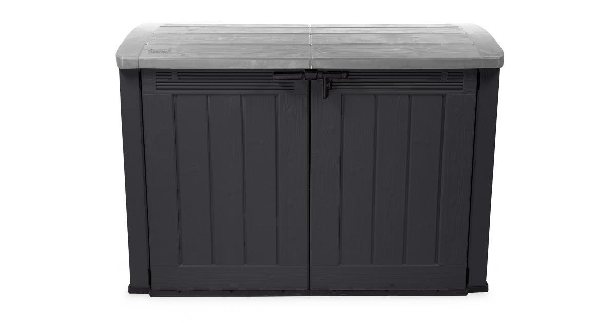 ondis24 keter m lltonnenbox ger teschuppen garten ultra. Black Bedroom Furniture Sets. Home Design Ideas