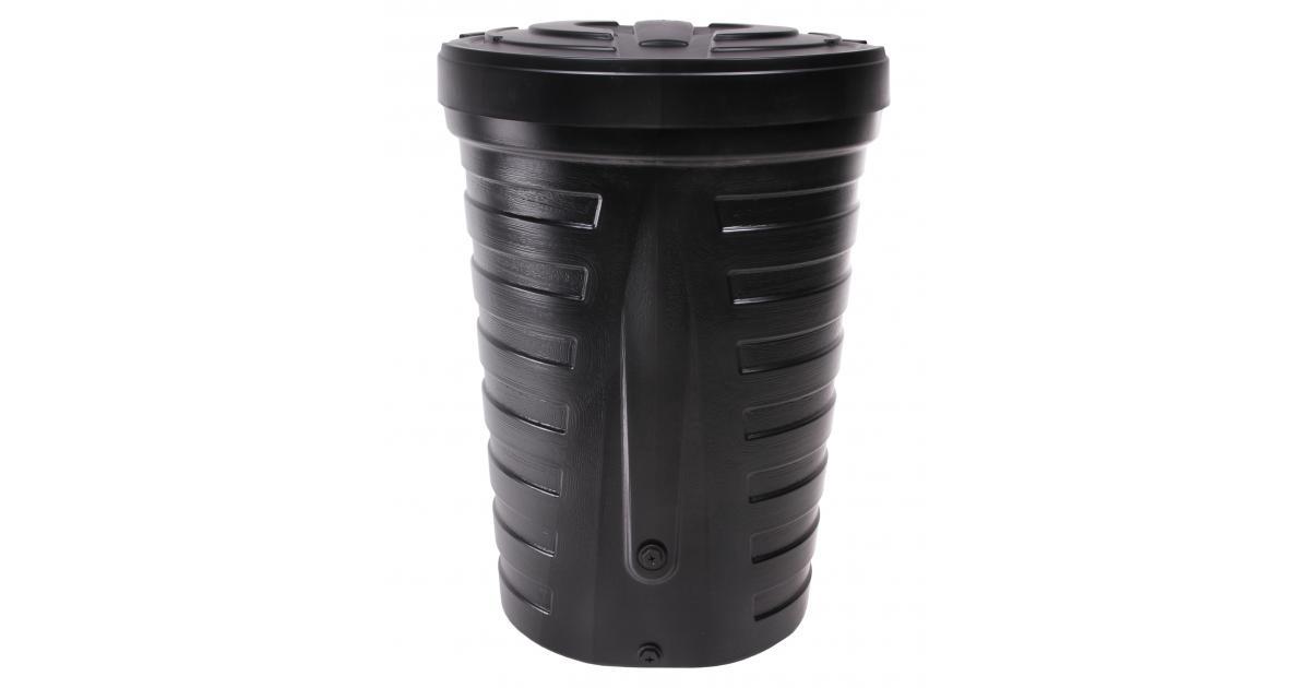 ondis24 regentonne wassertank raincan 210 liter schwarz g nstig online kaufen. Black Bedroom Furniture Sets. Home Design Ideas