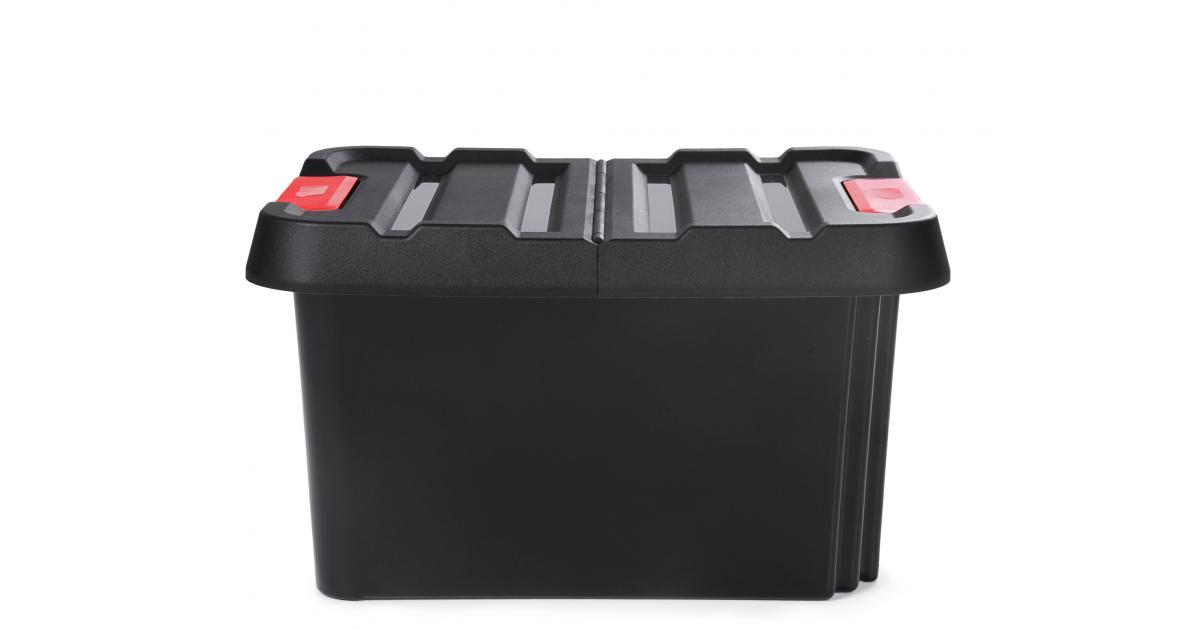 ondis24 dreh und stapelbox malle aufbewahrungsbox mit deckel 58 l g nstig online kaufen. Black Bedroom Furniture Sets. Home Design Ideas