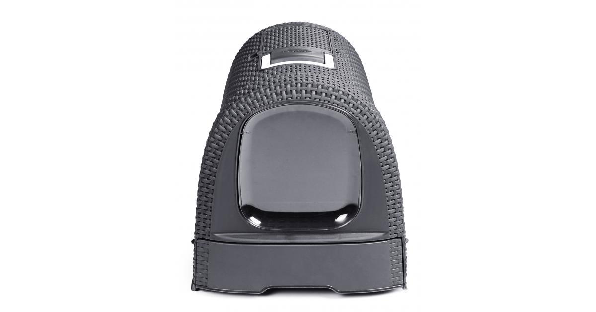 ondis24 curver katzentoilette anthrazit g nstig online kaufen. Black Bedroom Furniture Sets. Home Design Ideas
