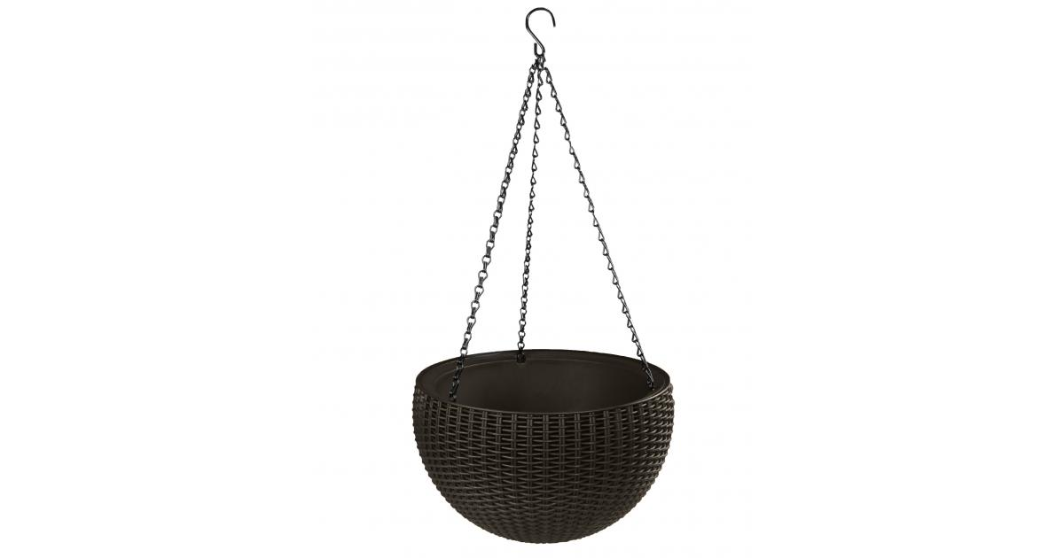ondis24 rattan blumenampel h ngend g nstig online kaufen. Black Bedroom Furniture Sets. Home Design Ideas