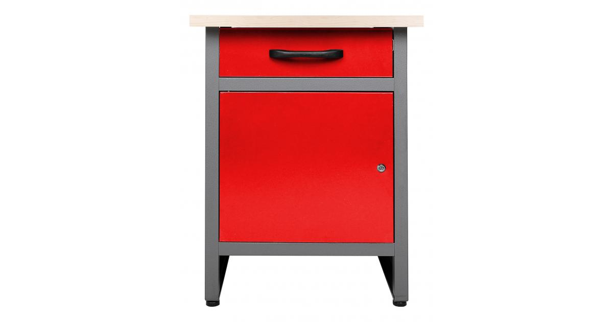 ondis24 werkbank wolle 60 cm rot g nstig online kaufen. Black Bedroom Furniture Sets. Home Design Ideas