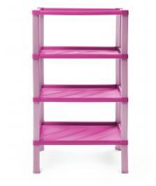 ONDIS24 Regal Kunststoff Badregal Scaf pink