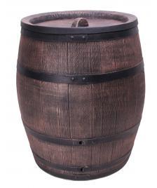 ONDIS24 Regentonne Wasserbehälter Fass Eichenfass 240 Liter