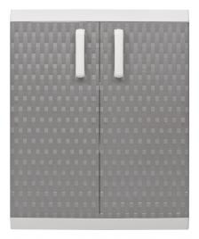 ONDIS24 Kunststoffbeistellschrank Rattan XL