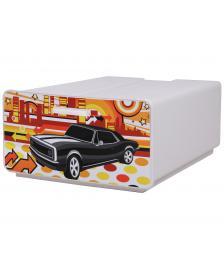 ONDIS24 Boxy schwarzes Auto