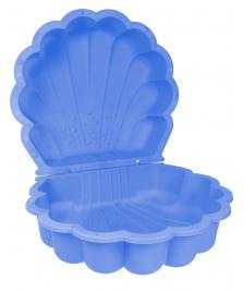ONDIS24 Sandkasten Muschel Wassermuschel 87 cm blau