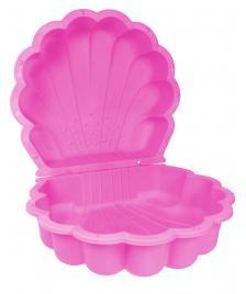 ONDIS24 Sandkasten Muschel Wassermuschel pink 87 cm
