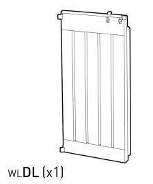 ONDIS24 Teil WLDL (Tür links) anthrazit