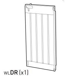 ONDIS24 Teil WLDR (Tür rechts) anthrazit