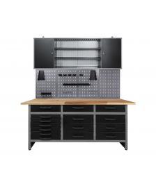 ONDIS24 Werkstatt Set Konny 170 cm 1 Schrank