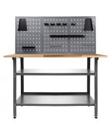 ONDIS24 Werkstatt Set Nobbi 120 cm mit Lochwand