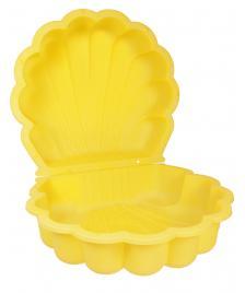 ONDIS24 Sandkasten Muschel Wassermuschel 87 cm gelb
