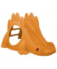ONDIS24 Kinderrutsche DINO orange