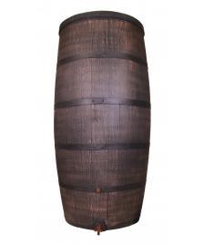 ONDIS24 Regentonne 500 Liter Wasserbehälter Eichenfass Fass