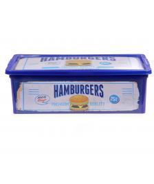 ONDIS24 Aufbewahrungsbox C Box XS Design Fast Food mit Deckel