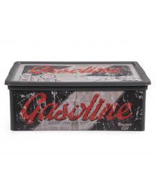 ONDIS24 Aufbewahrungsbox C Box S Vintage Design Garage mit Deckel