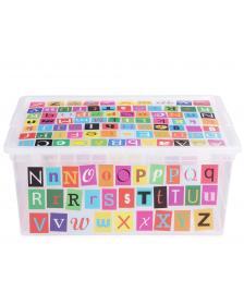 ONDIS24 Aufbewahrungsbox C Box M ABC Design mit Deckel