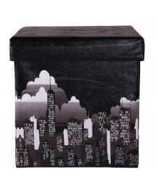 ONDIS24 Polsterhocker Kastenottomane New York City 38 cm