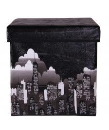 ONDIS24 Polsterhocker Kastenottomane New York City 38 cm