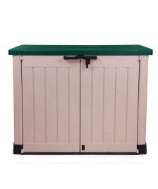 ONDIS24 Keter Geräteschuppen Mülltonnenbox MAX grün