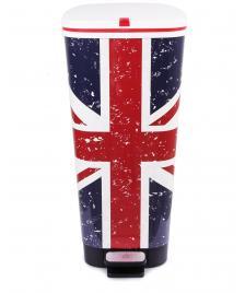 ONDIS24 Abfalleimer Mülleimer Chic Union Jack 45 Liter