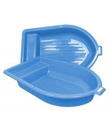 ONDIS24 Sandkasten mit Deckel Kunststoff Boot