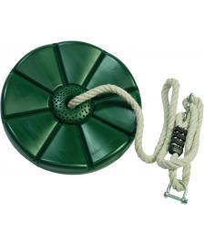 ONDIS24 Tellerschaukel für Seilbahn grün