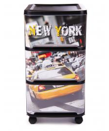 ONDIS24 Rollwagen Visio New York Schubladen Tower