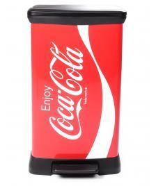 ONDIS24 Curver Coca Cola Mülleimer Abfalleimer 50 Liter