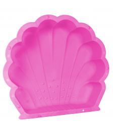 ONDIS24 Sandkasten Muschel Wassermuschel pink 87 cm mit Plane