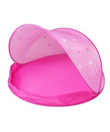ONDIS24 Wurfzelt für Kinder als Sonnenschutz pink