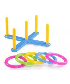 ONDIS24 Ringe werfen Wurfspiel mit Ringen