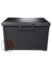 ONDIS24 Kissenbox Sitztruhe Nevada kompakt 120 L