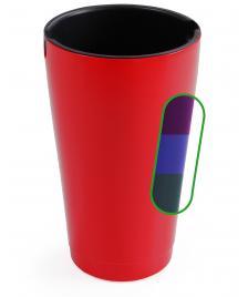 ONDIS24 Rio Blumentopf Vase 50cm mit Wasserspeicher