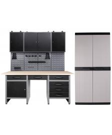 ONDIS24 Werkstatt Harry 3 Schränke + Comfort XL Schrank