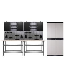 ONDIS24 Werkstatt Nobbi 2 Schränke + Comfort XL Schrank + Beistell