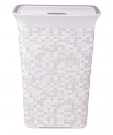 ONDIS24 Wäschekorb Wäschebox Mosaik 60L